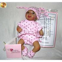 Cece Mini Bebê 18cm = Reborn Vinil Acessórios Maternidade