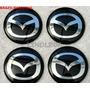 Emblemas Centro Rodas Mazda Mx3 Mx5 Miata 626 Mpv Protege