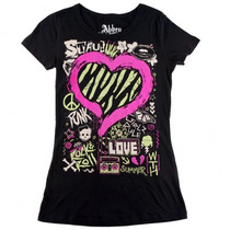 Blusa Kissing Abbey Dawn Avril Lavigne - Tam P
