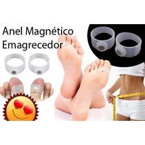 Par Anel Emagrecedor Magnético Perca Peso Magra Silicone