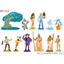 Coleção Completa - Pocahontas - Bonecos Medem De 6 A 10 Cm