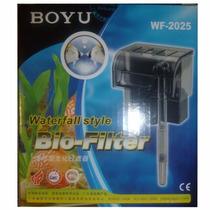 Filtro Boyu Externo Wf-2025 Cachoeira 300l/h C/ Refil Extra