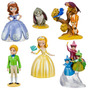 Figurine Play Set- Princesa Sofia- 6 Pçs- Disney Store!!