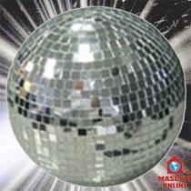 Globo Espelhado 30cm. Use Com Iluminação, Canhões, Led, Luz.