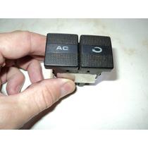 Botão Interruptor Do Ar Condicionado Do Painel Do Golf