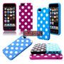 Capa Para Iphone 5/5s Bolinhas Polka Dots Retro Colorida Top