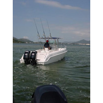 Lancha Sea Crest Fishing 245-evinrude E-tech 175 Hp Dpl 2014