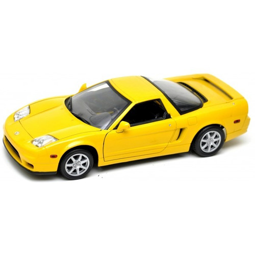 Miniatura De Carro Honda Acura Nsx 2002 1:18 Motor Max R