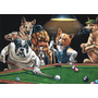 Placa Decorativa Dog Bilhar Snooker Cachorro Vintage Kustom