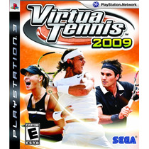 Virtua Tennis 2009 - Ps3 Original Seminovo!