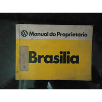 Manual Proprietario Brasilia Original
