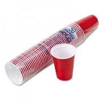 American Red Party Cups - Os Legítimos Da Solo Cup 64,99