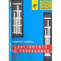 Livro Planejamento De Propaganda Roberto Correa Frete Gratis