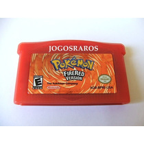 Pokémon Fire-red Original Americano! Selo De Autenticidade!