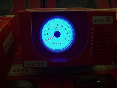 1ca1403cd38 Conta Giros Type R 7705 Acende Neon Azul Lançamento Curitiba. Preço  R  94  99 Veja MercadoLibre
