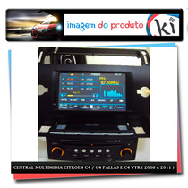 Central Multimidia Citroen C4 /c4 Pallas E C4 Vtr (08 A 11)