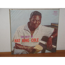 Lp The Best Of Nat King Cole Capa Bolachão Disco De Vinil