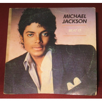 Michael Jackson - Compacto Beat It / Get On The Floor