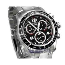 Relógio Tissot V8 Azul Ou Preto Na Caixa Em 12 X Sem Juros!