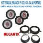 Kit Alto-falantes Bravox B3x Triaxial P/ Gol G3-g4(4 Portas)