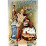 Hudson Copo Cerveja Usa Fabrica Antigo Frances Poster Repro