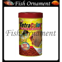 Tetra Color Tropical Granules 75 G Color Bits Fish Ornament