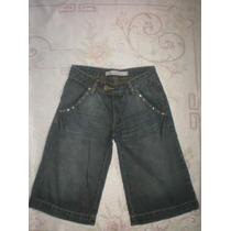 Linda Bermuda/calça Jeans Feminina Yessica Tamanho 38