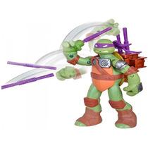 Boneco Donatello Tartarugas Ninja Flingers Lança Armas Br156