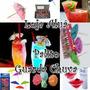 Enfeite P/ Drinks ( Canudo Fruta, Guarda-chuvas ) - 100 Un.