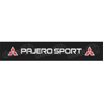 Adesivo Para Parabrisa Pajero Sport - Decalx