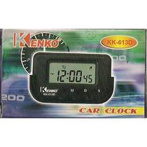 Relógio P/carros,cronometro,data, Despertador Embgem C/2 Pçs