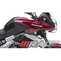 Par De Adesivos Kawasaki Versys Carenagem Lateral Moto