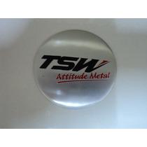 Emblema Tsw Para Rodas Esportivas Tamanho 69mm