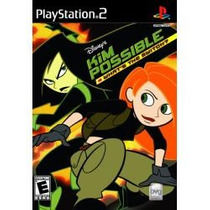 Kim Possible Da Disney Para Play 2 Ps2 Lacrado E Original