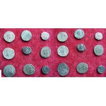 Lote 9 Moedas De Bronze Império Romano Era De Constantino