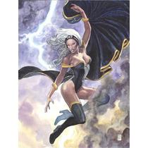 Tempestade Coleção Posters Heroínas Marvel Por Milo Manara