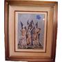 Clovis Graciano - Mulheres Dançando - 38 X 28 Cm - Guache