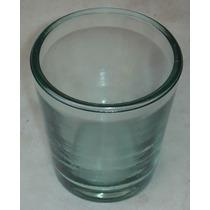Vaso Vidrão Transparente Espessura 5 Mm. Altura 12 Cm ;