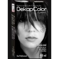 Dekapcolor System 400ml Removedor De Coloração E Pigmentos