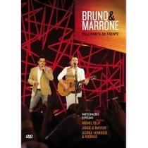 Dvd Bruno E Marrone Pela Porta Da Frente 2012