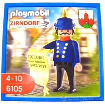 Playmobil Vitoriano - Soldado Zirndorf Comemorativo 100 Anos