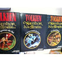 Livro O Senhor Dos Anéis - Tolkien - 3 Volumes Frete Gratis
