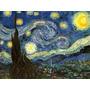 Noites Estreladas Reprodução De Vincent Van Gogh Na Tela