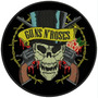 Bordado Termocolante Banda Rock Guns N' Roses Patch Ban29