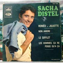 Sacha Distel - Compacto Vinil Emi - Roméo Et Juliette