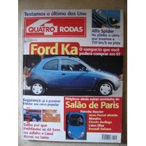 Revista Quatro Rodas N.439 Ford Ka - Frete Grátis