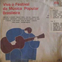 Viva O Festival Da Música Brasileira - 1967 - Raridade