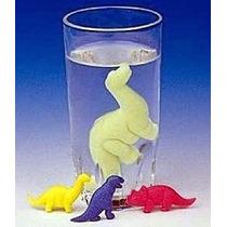 Mini Dinossauro De Borracha Que Cresce Na Água Frete Único
