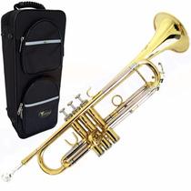 Trompete Eagle Laqueado Sib Tr504 + Hardcase Lux Promoção