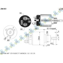 Automatico Motor De Partida 12v Kadett Monza 1.6 1.8 2.0
